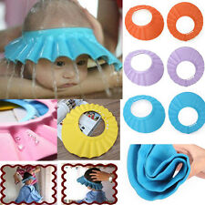 Adjustable Baby Kids Shampoo Shower Bath Bathing Soft Cap Hat Wash Hair Shield
