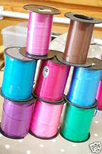 Lot of curling ribbon. Includes full and nearly full rolls. Lot 3.