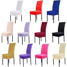 Wedding Part Decor Kitchen Bar Dining Chair Cover Hotel Restaurant Seat Covers
