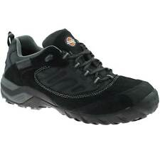 MENS DICKIES DALTON SAFETY TRAINERS SIZE UK 5.5 - 12 SUEDE BLACK FD9200