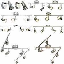 Modern 1 2 3 4 6 Way Chrome Silver Ceiling Spot Light Home Bar Fitting Spotlight