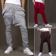 New Fashionable Mens Casual Hip-Hop Trendy Slacks Harem Trousers Baggy Pants R68