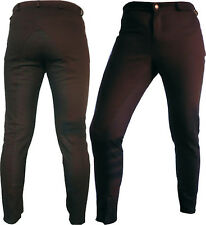 Brown Hard quality Fabric Dressage Horse Riding Pants Full Seat Breeches breech