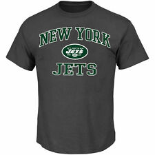 New York Jets Majestic Big & Tall Heart & Soul III T-Shirt - Charcoal - NFL