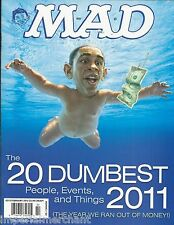 Mad magazine Dumbest people events and things list Spiderman Politics Protests