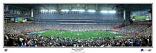 2008 Super Bowl XLII NY Giants defeat NE Patriots Panoramic Poster Print 1033