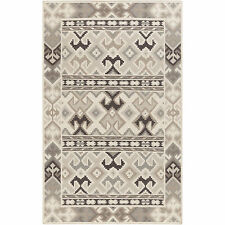 Hand-Woven Leah Southwestern Style Wool Rug (8' x 11')
