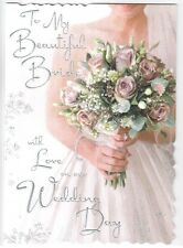 To My Fabulous Husband or To My Beautiful Wife on our Wedding Day Luxury Card