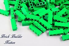 ☀️NEW Lego 1x4 GREEN BRICKS Building Parts pieces bulk lot LEGOS #3010 Brick