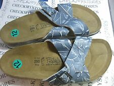 NIB Birkenstock  BIRKIS SANTOSA 146401 146391 LEATHER MENS SANDAL MADEIN GERMANY