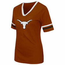Women's Colosseum Burnt Orange Texas Longhorns Aurora Short Sleeve T-Shirt