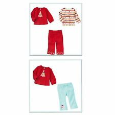 Gymboree Cozy Cutie Holiday Set Top & Bottom 18 24 2T 4T 5T NWT Snowman Tree