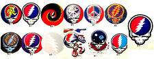 ROCK AND ROLL GRATEFUL DEAD WINDOW/BUMPER STICKERS ~ ASSORTED