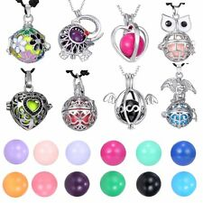 Mexican Ball Locket Pregnant Chime Bell Pendant Necklace Women Jewelry Gift New