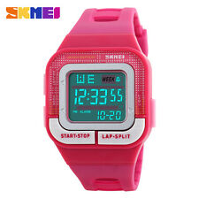 Women Men Sports Watches Digital LED Waterproof Military Watches   Fashion Alarm