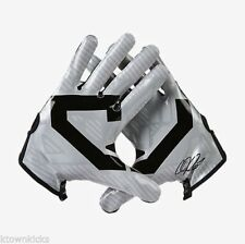 NWT MN ADULT SKILL NIKE GF0220 012 CJ81 CALVIN  JOHNSON FOOTBALL GLOVES GRAY $70