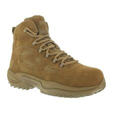 Reebok 6-Inch Rapid Response Tactical Boot RB8650 Men's Military Composite Toe