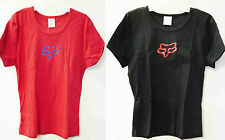 "FOX RACING GIRLS HERE & NOW WOMEN'S/GIRLS T-SHIRT BRAND NEW ""U PICK"""