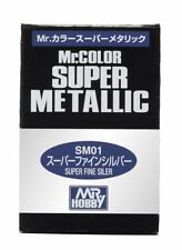 Mr.Hobby Mr.Color Super Metallic 18ml RC Model Metal Paint Gunze Gundam Military