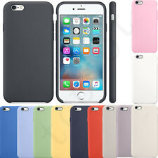 Fashion Ultra-thin Genuin Silicone Case Cover Skin For Apple iPhone 6/6S Plus