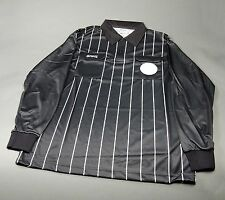 Olympus Soccer Referee Long Sleeve Shirt Black/White (NEW) Retails: $39.99