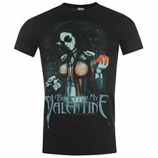 Official Bullet for My Valentine T Shirt Short Sleeve Graphic Printed Tee Top