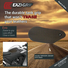 Eazi-Grip EVO Tank Grips for Honda CBR500R and CB500F, clear or black