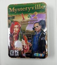 MYSTERYVILLE 1 & 2 SPECIAL EDITION TIN (PC Games) NEW & SEALED