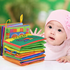 Newest Intelligence development Cloth Cognize Book Educational Toy for Kid Baby