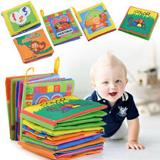 Kid Baby Intelligence development Soft Cloth Cognize Book Educational Toy New