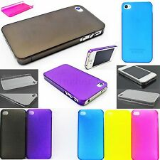 Ultra Thin Hard Snap On Phone Skin Shell Case Cover For Apple iPhone 4 4G 4S