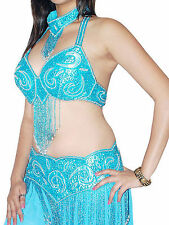 Belly Dance Costume Bra Belt and skirt set