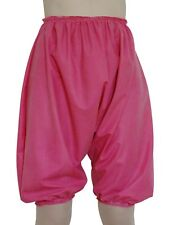Adult Baby Bloomers Knickers Rubber Pink Sissy Pants Panties Roleplay XL/XXL