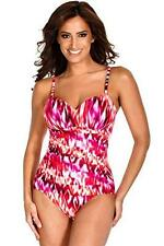 MIRACLESUIT RIALTO CORAL MIRACLE SWIM SUIT CRUISE BATHING SWIMMING COSTUME