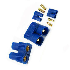 30 Pair Female Male EC3 EC 3 3.5mm Bullet Connector Plug Battery M1 Blue