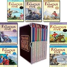 Enid Blyton Collection Famous five(8-14)7 books Set Gift Wrapped Slipcase foryou