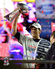 Tom Brady New England Patriots Super Bowl XLIX Photo Trophy RR235 (Select Size)