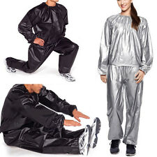 New Heavy Duty Fitness Exercise Gym Sauna Sweat Suit Weight Loss Size L-5XL