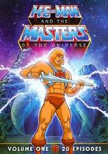 He Man And The Masters of the Universe,  Vol 1 (DVD) 20 Episodes - new,free sh..