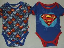 DC COMICS SUPERMAN BABY ONEPIECE SIZE 12 18 24 MONTHS NEW!