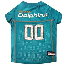 Miami Dolphins NFL mesh Pet Dog Game Jersey (all sizes)