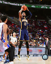 Paul George Indiana Pacers 2015-2016 NBA Action Photo SN152 (Select Size)
