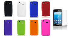 LCD Guard + Silicone Cover Case for Samsung Captivate Galaxy S SGH-i897 SGH-I896