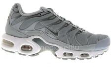 Nike Air Max Plus Tuned 1 Tn Wolf Grey Metallic Pewter Mens Trainers 647315