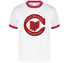 CLEVELAND BARONS DEFUNCT OLD TIME NHL HOCKEY RINGER T-SHIRT NEW