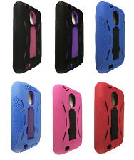 Hybrid w Kickstand Cover Case for Samsung Galaxy S 2 II Epic Touch 4G SPH-D710