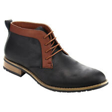Ferro Aldo AC98 Men's Lace Up High-Top Chukka Desert Work Boots