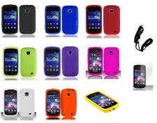 LCD+CC+ Silicone Cover Case for Samsung Galaxy Proclaim S720C SCH-S720C Phone