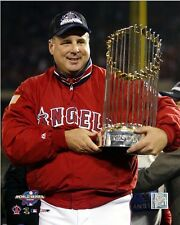Mike Scioscia LA Angels MLB Licensed Fine Art Prints (Select Photo & Size)