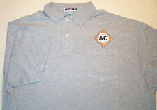 Mens Allis Chalmers Diamond Embroidered Polo Shirt w/Pkt (5 colors)